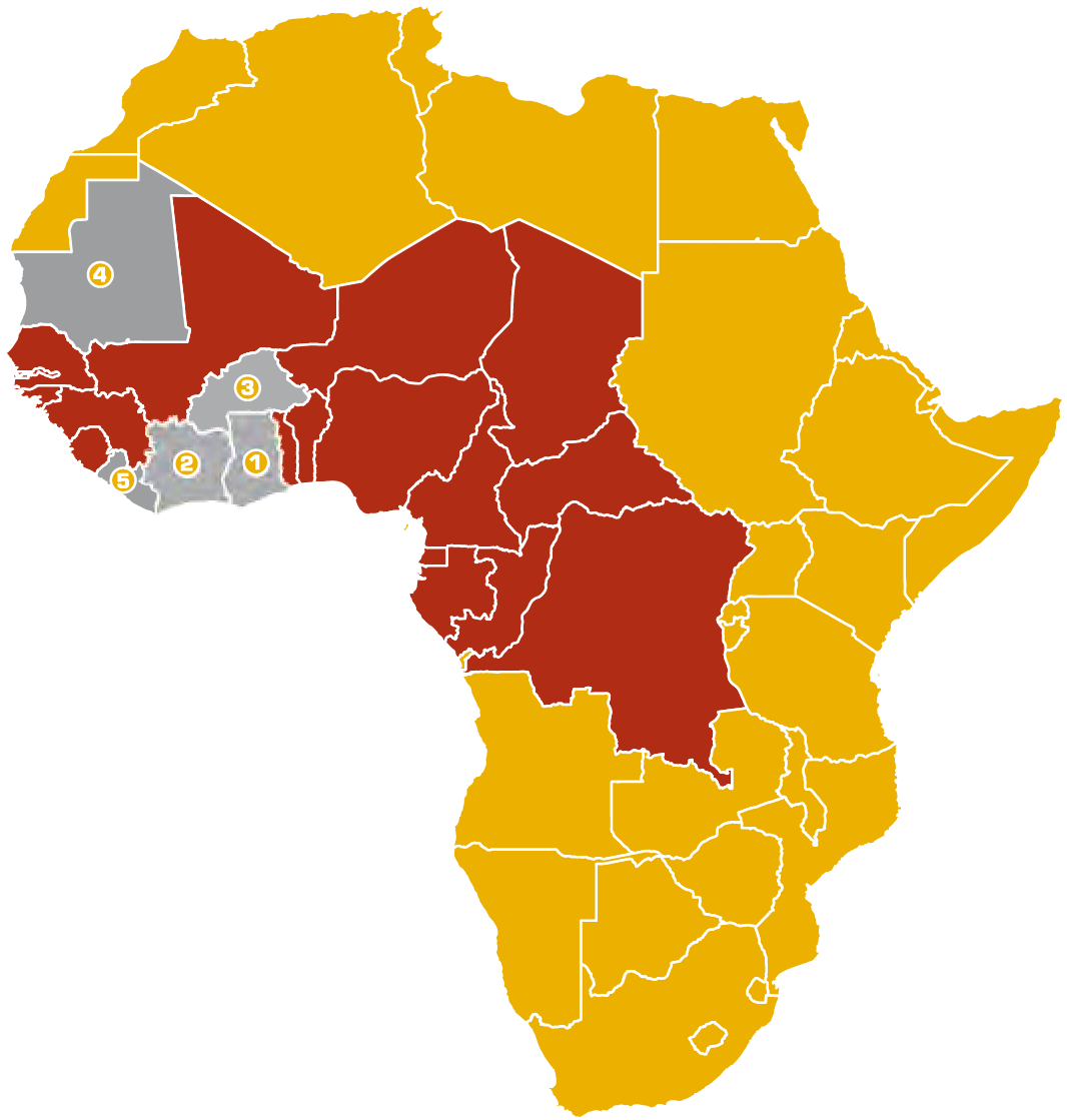 sems-locations-africa-map