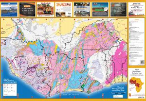 SEMS  2019 West African Geological Map